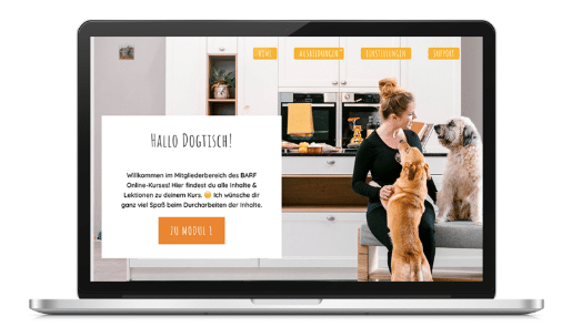 Photo of Dogtisch Academy-BARF Online Kurs