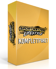 Sportwetten Lifestyle Komplettpaket